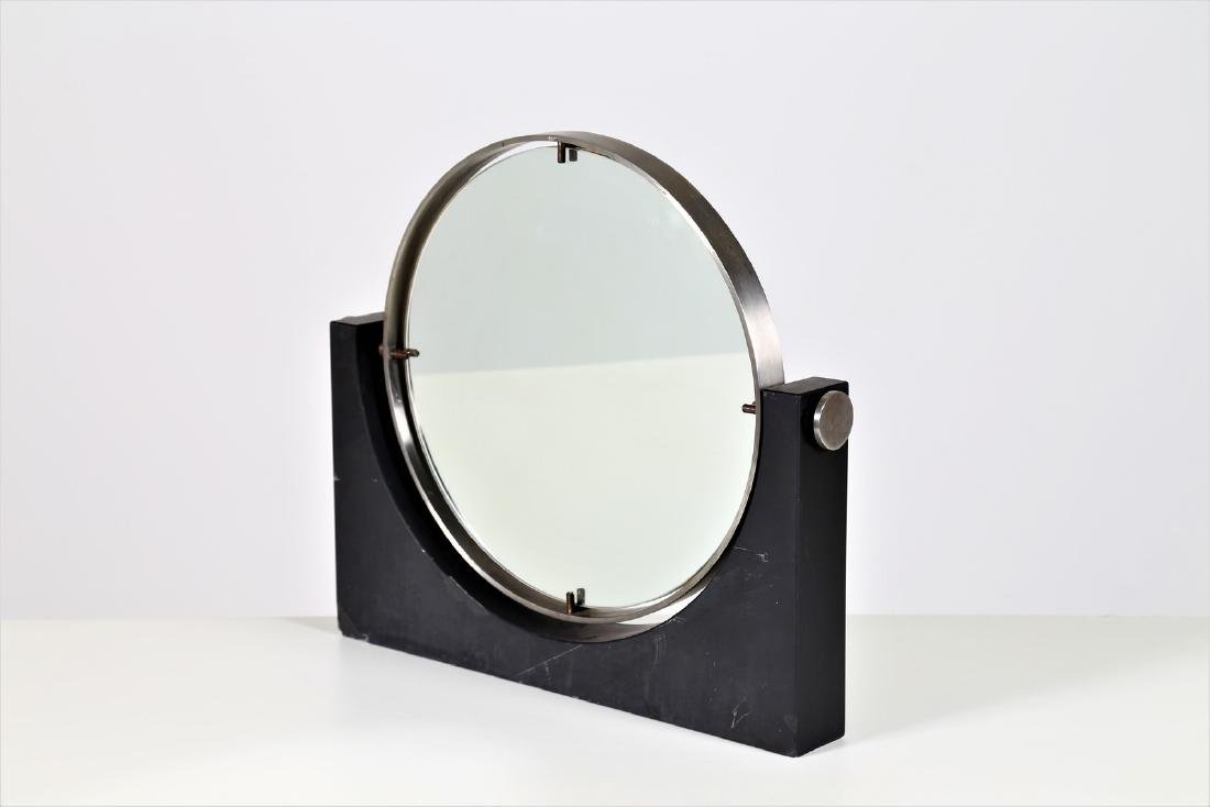 ANGELO MANGIAROTTI Dressing table mirror in slate,