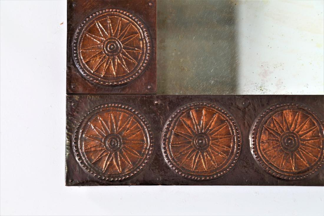 SANTAMRBOGIO E DE BERTI Distinctive mirror in copper - 2