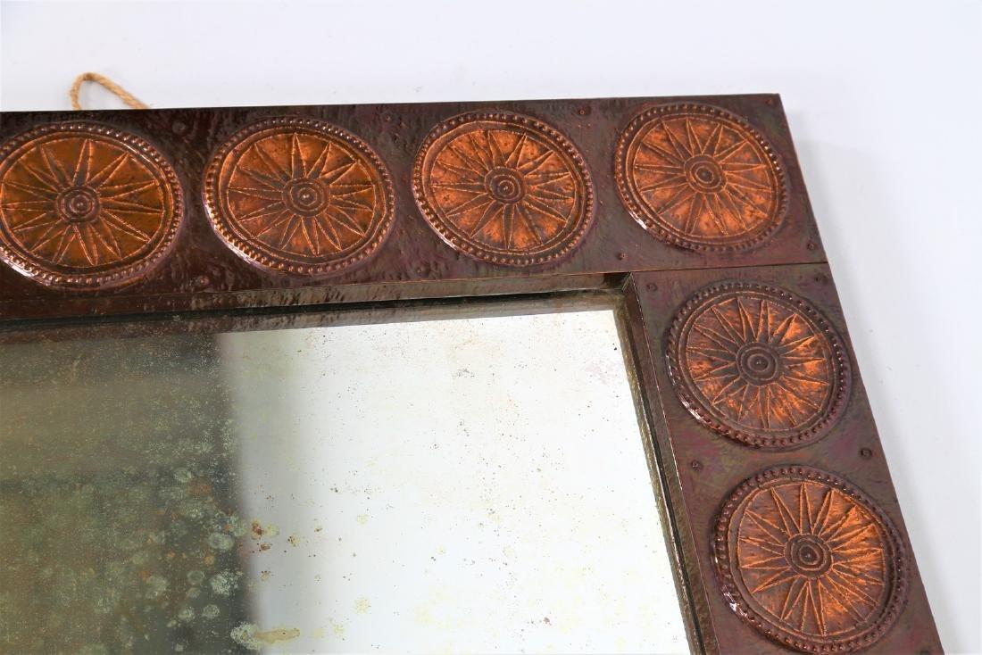 SANTAMRBOGIO E DE BERTI Distinctive mirror in copper - 3