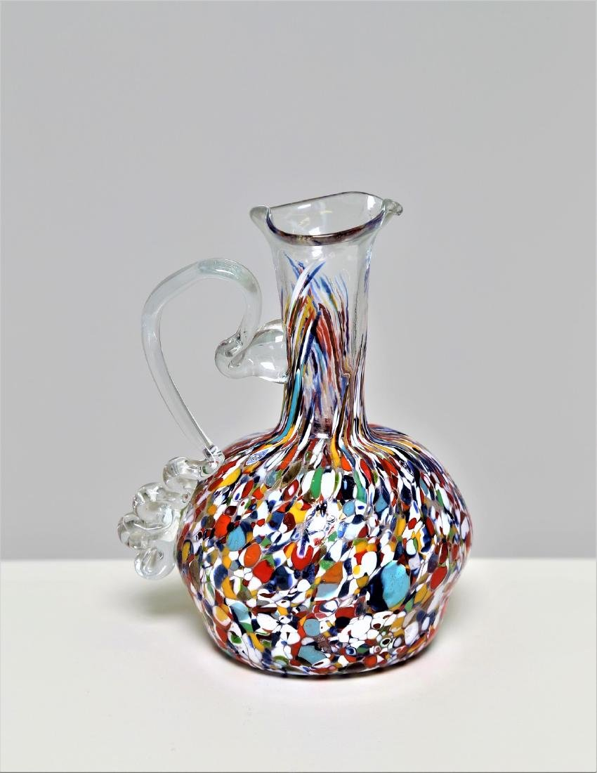 MANIFATTURA MURANO Carafe in transparent glass with