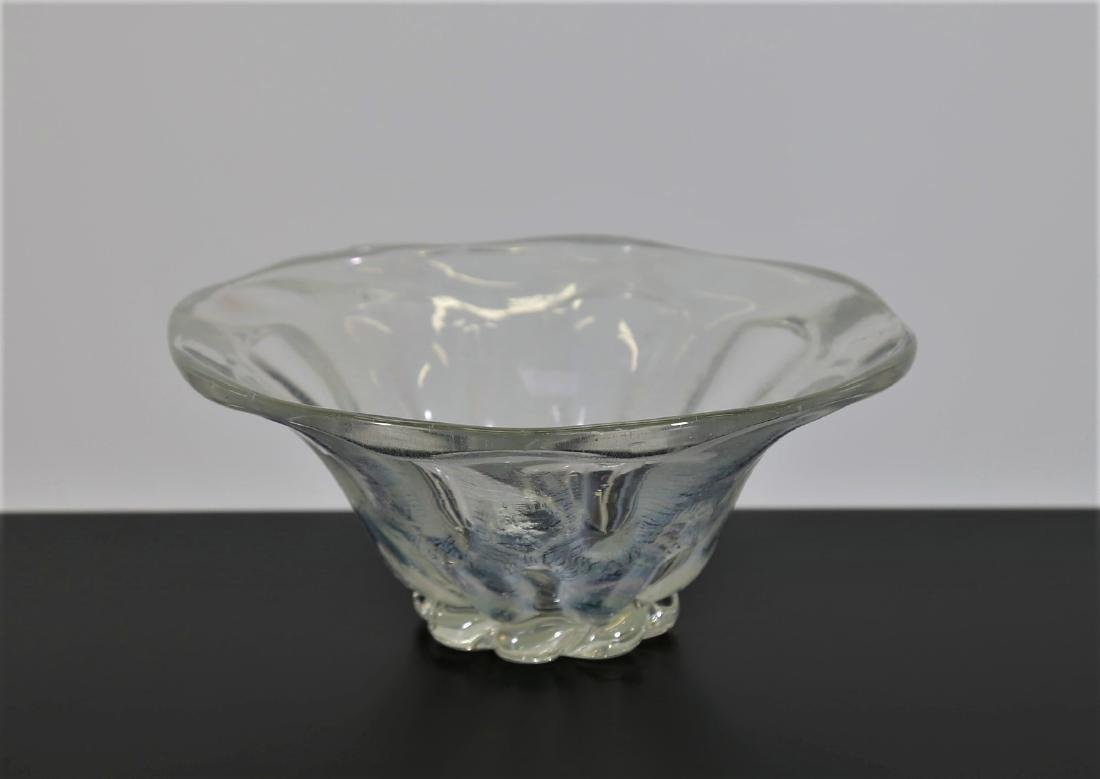 BAROVIER & TOSO  Iridescent glass centrepiece, 1950s.