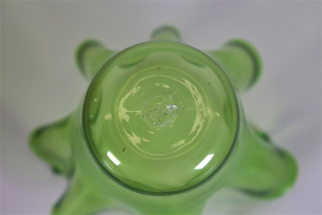 FRATELLI TOSO  Handkerchief vase in transparent green - 3