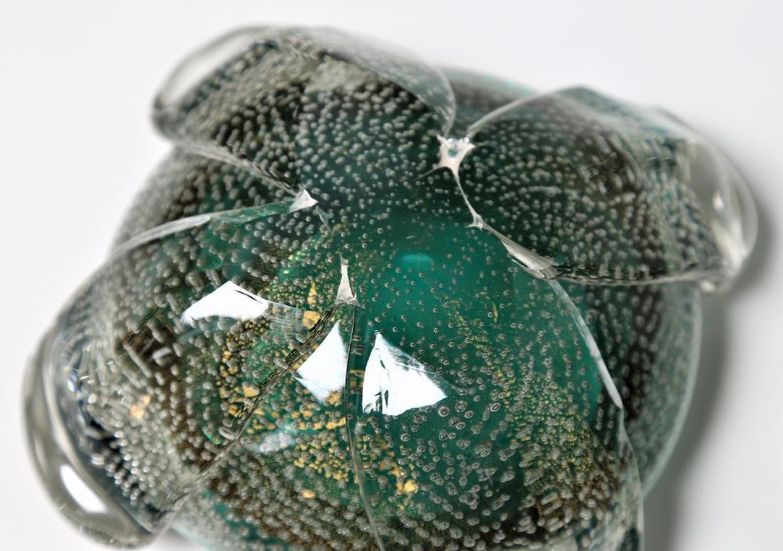 FLAVIO POLI Seguso Vetro d'Arte lidded bowl in sommerso - 5