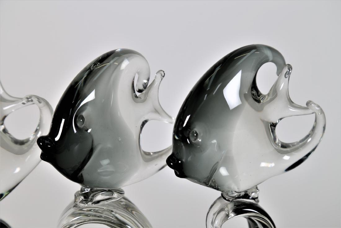 MANIFATTURA MURANO Sculpture in graduated grey - 2