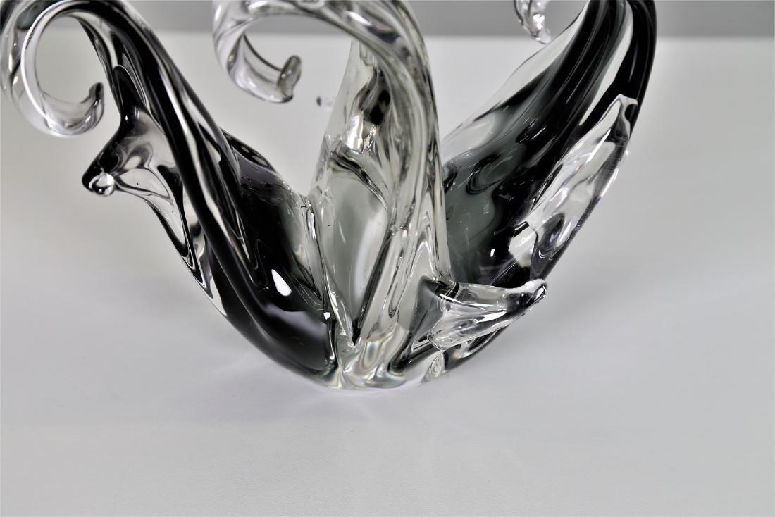 MANIFATTURA MURANO Sculpture in graduated grey - 4