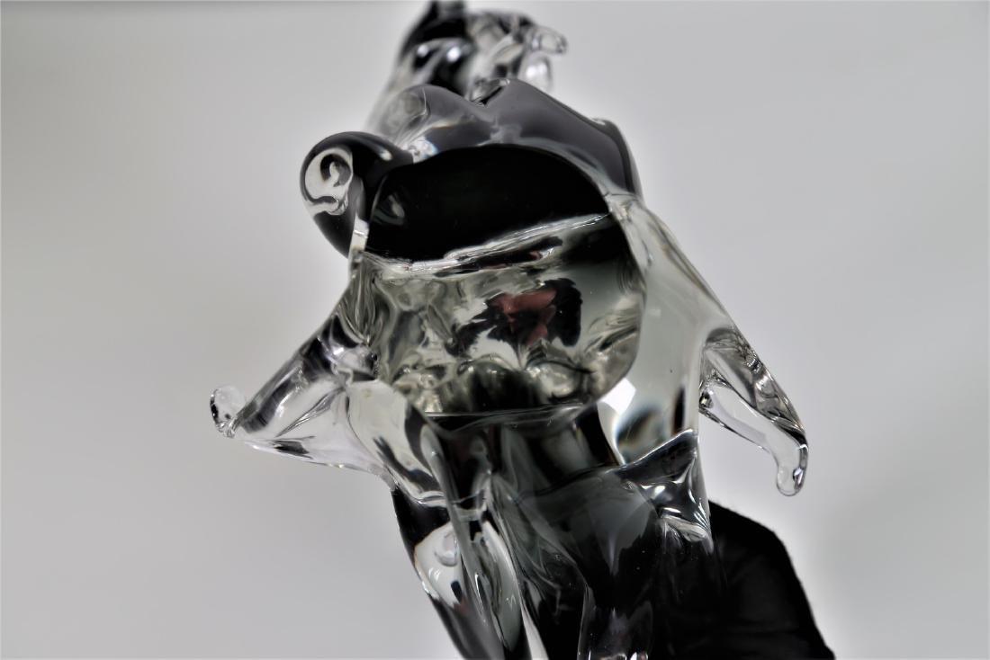MANIFATTURA MURANO Sculpture in graduated grey - 6