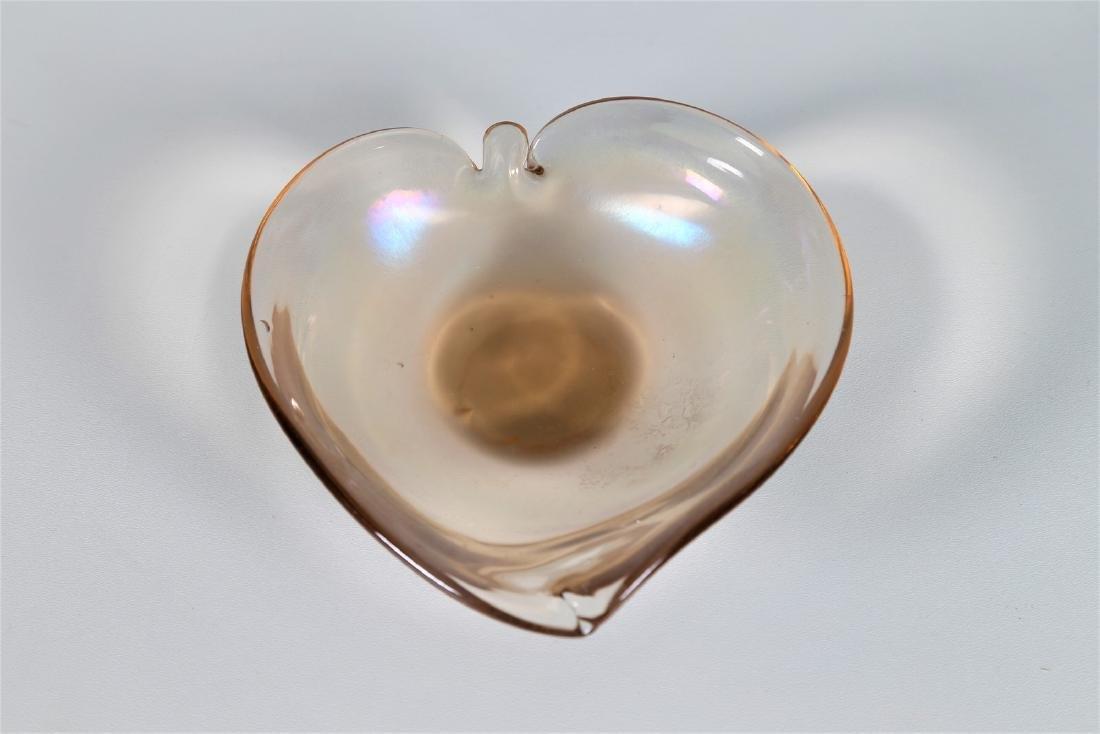 SEGUSO VETRI D'ARTE Highly iridescent glass bowl, - 2