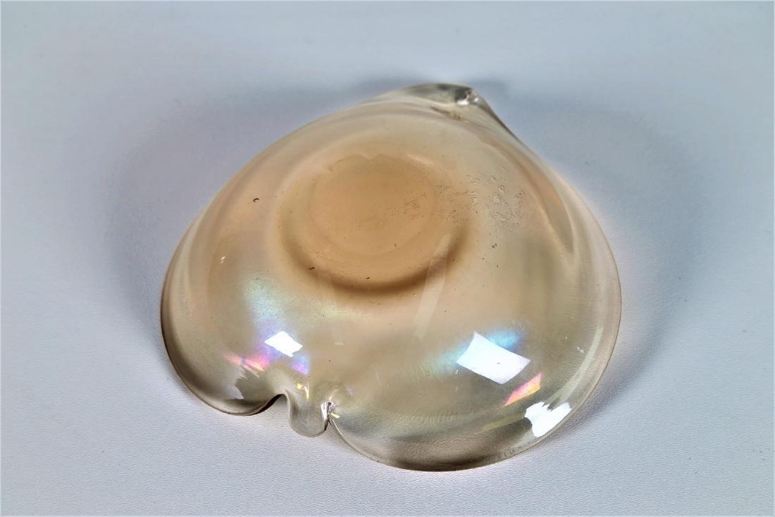 SEGUSO VETRI D'ARTE Highly iridescent glass bowl, - 4