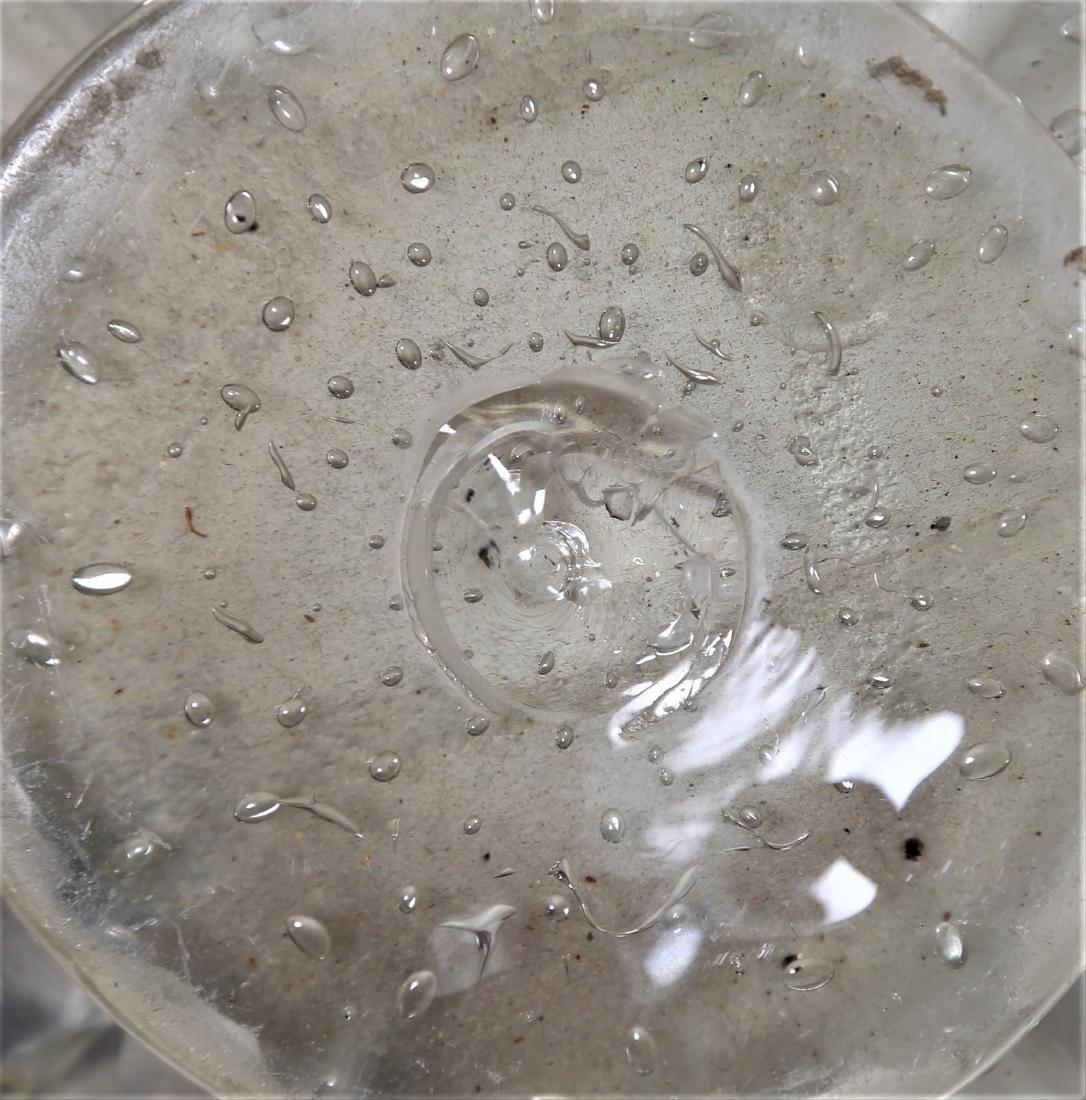 ERCOLE BAROVIER Barovier & Toso clear bubble glass - 3