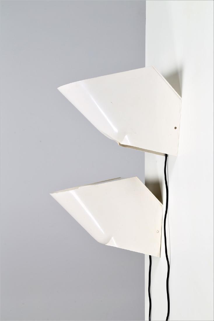CINI BOERI Pair of plastic lamps, Lucetta model by