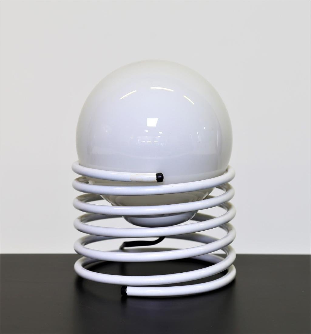 MANIFATTURA ITALIANA  Table lamp in lacquered metal and