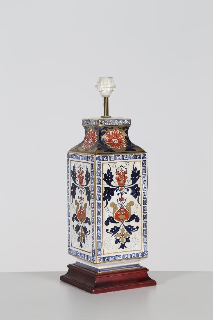 MANIFATTURA ITALIANA  Ceramic table lamp .