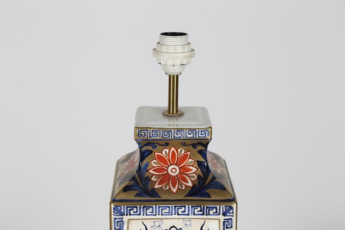 MANIFATTURA ITALIANA  Ceramic table lamp . - 3