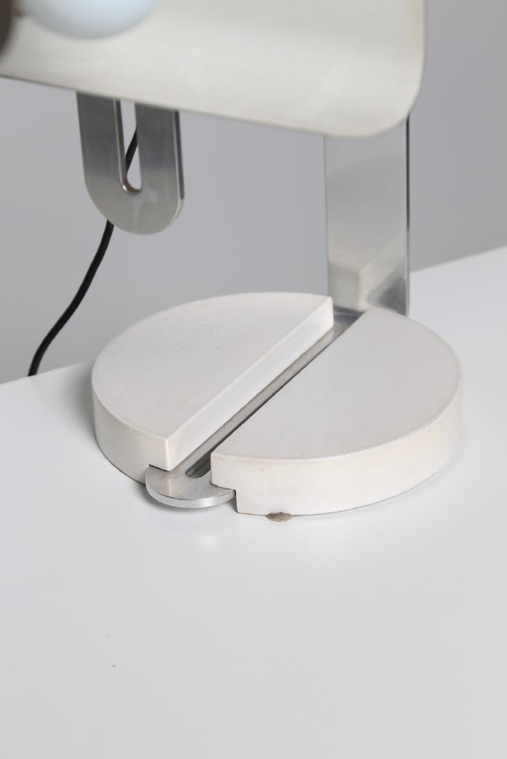 MANIFATTURA ITALIANA  Table lamp in chromed metal, - 2