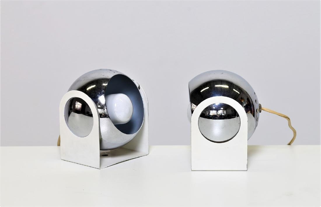 MANIFATTURA ITALIANA  Pair of table lamps in lacquered,