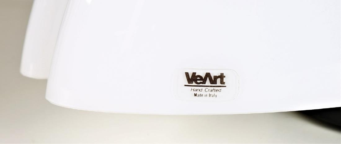 VEART  Pair of table lamps in lacquered metal and - 4