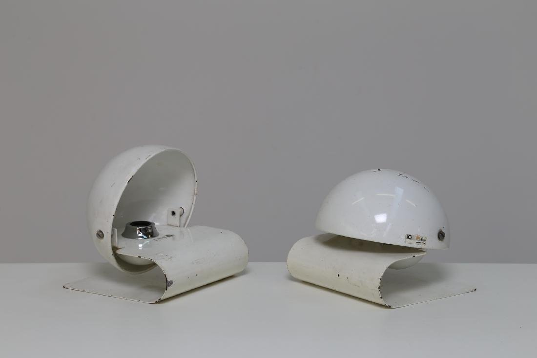 GIUSEPPE  CORMIO Pair of table lamps in lacquered