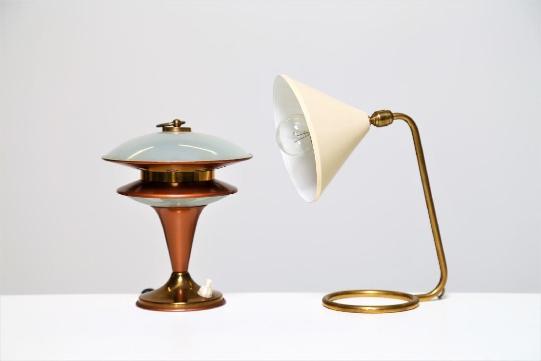 MANIFATTURA ITALIANA  Two table lamps, 1950s.