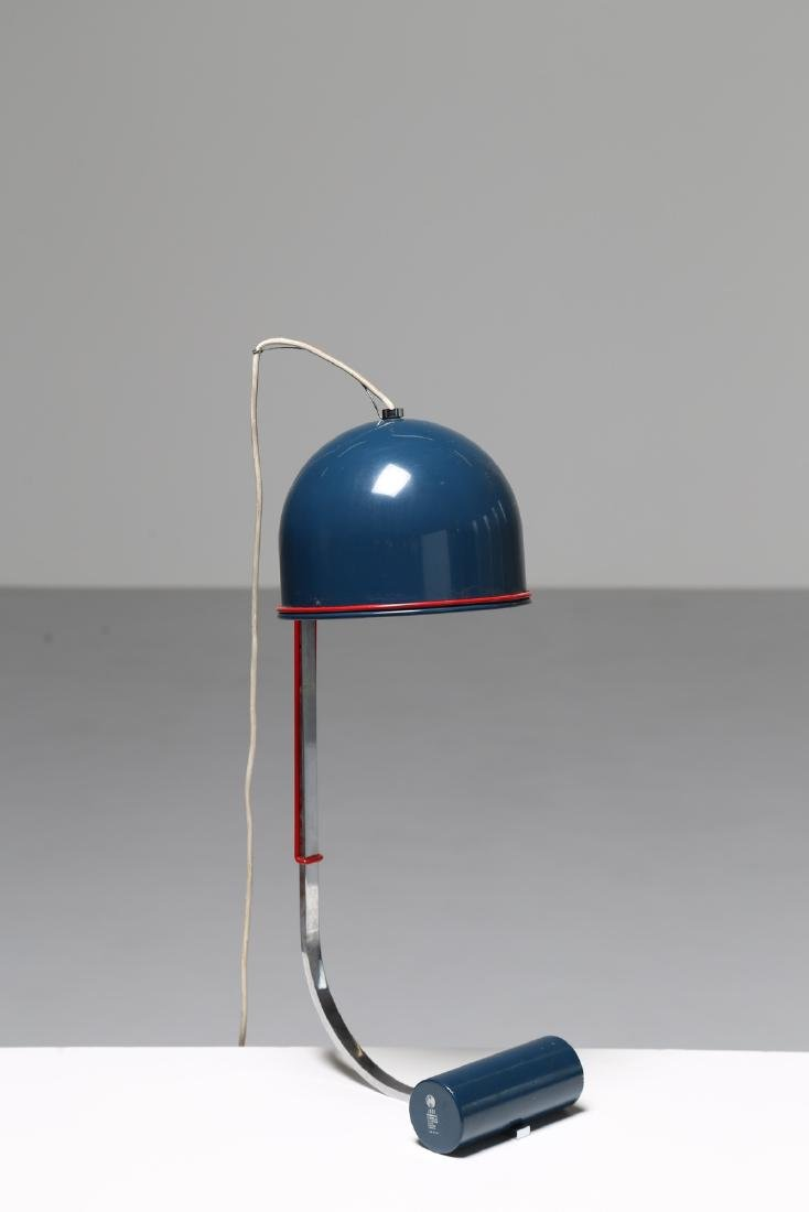 LUCI ILLUMINAZIONE  Table lamp in lacquered, chromed