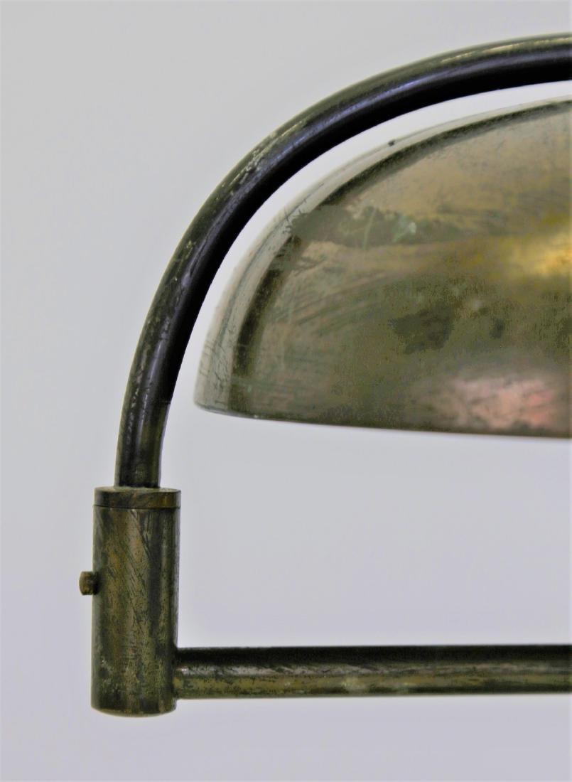 MANIFATTURA ITALIANA  Brass table lamp, 1940s. - 4