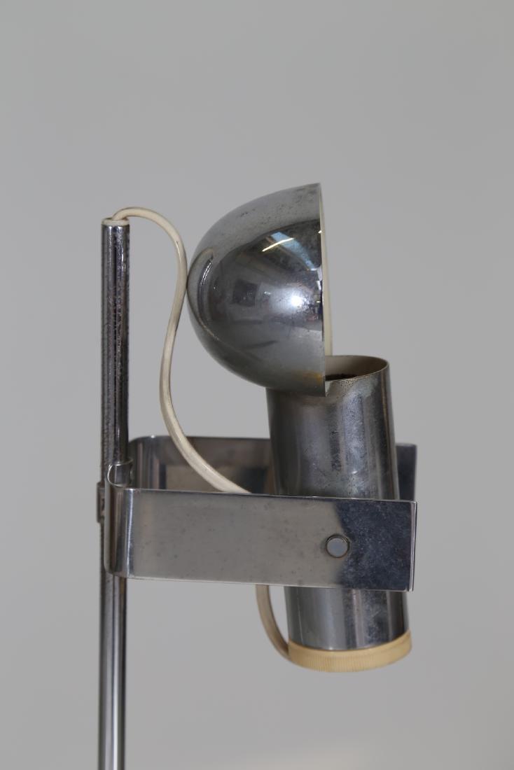 ROBERT  SONNEMAN Table lamp in lacquered, chromed - 3