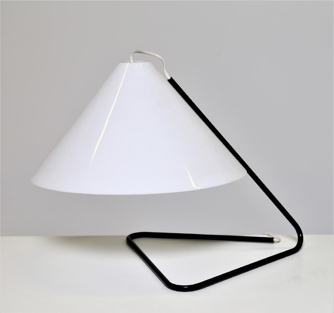 PAOLO TILCHE Table lamp in lacquered metal and plastic,