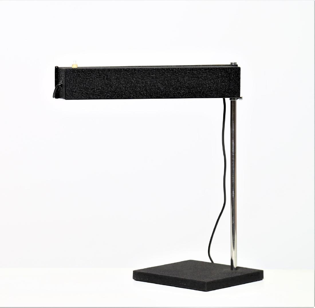 DIETER  WAECKERLIN   Table lamp in chromed metal, Saffa - 3