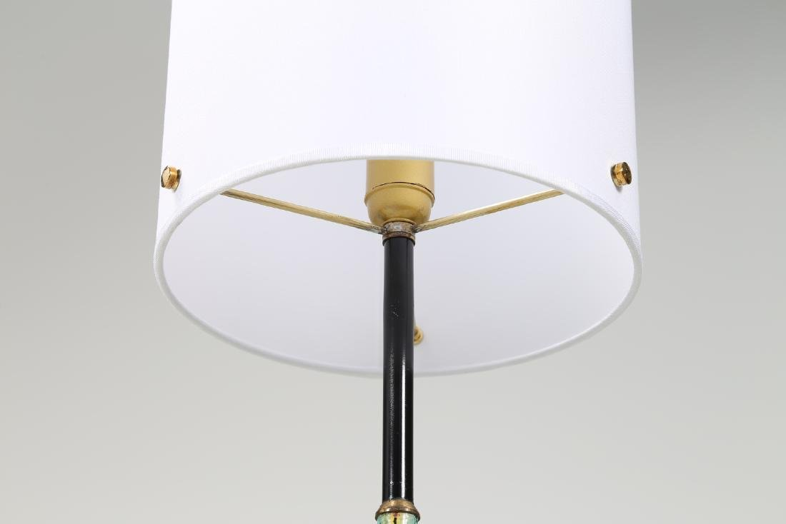 CASEY FANTIN Pair of standard lamps in brass, lacquered - 4