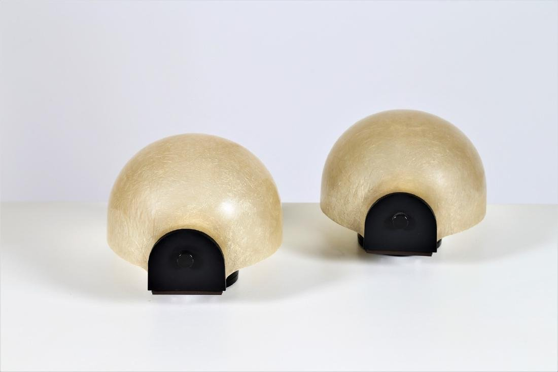LUCI ILLUMINAZIONE  Pair of wall lamps in lacquered - 3