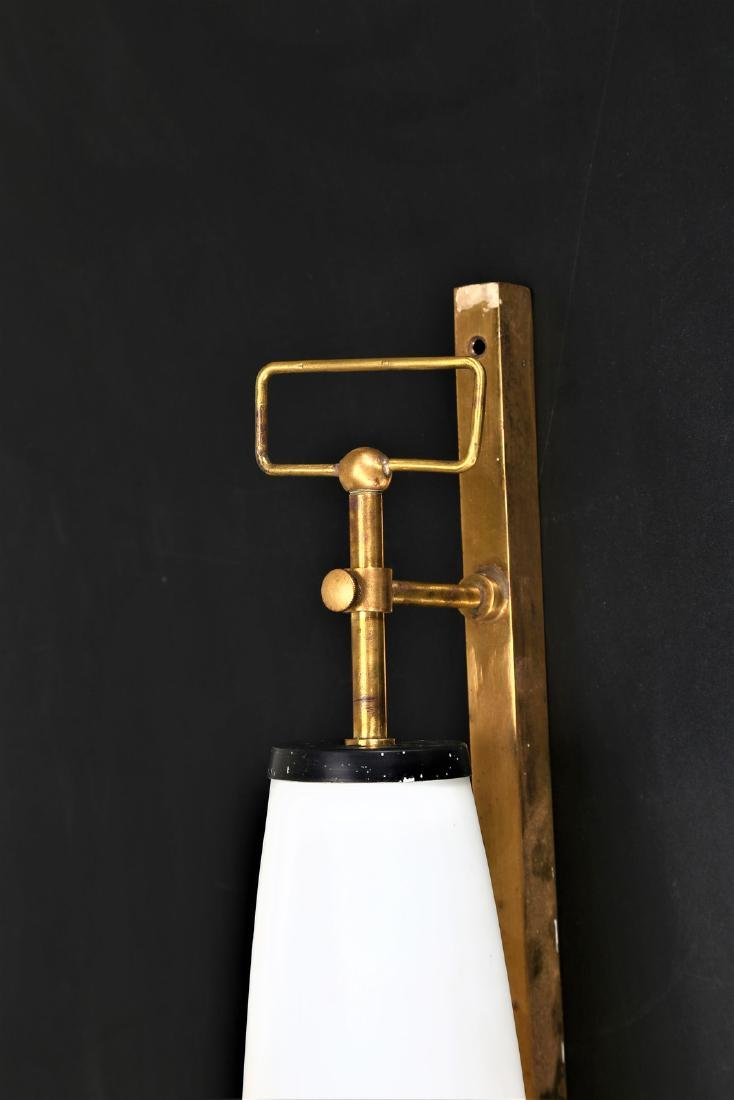 ARREDOLUCE  Wall lamp in brass, lacquered metal and - 2