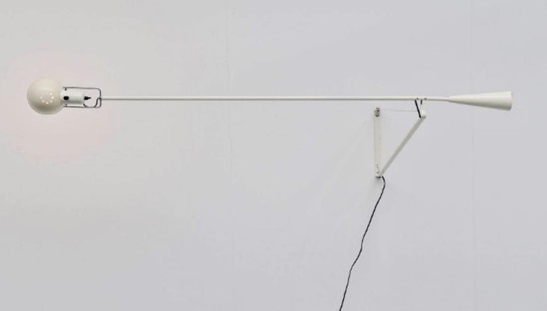 PAOLO RIZZATTO Wall lamp in lacquered metal, model 265 - 2