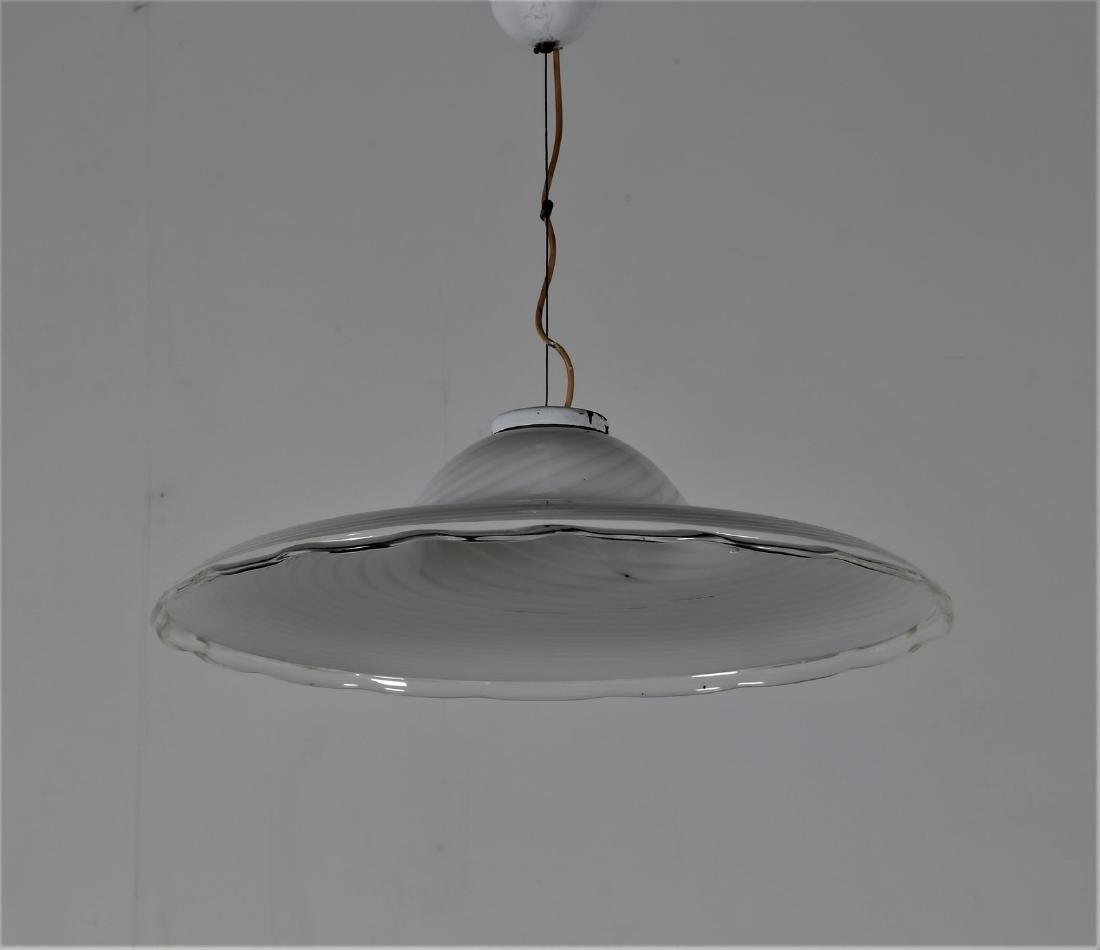 MANIFATTURA ITALIANA  Pendant light in glass and