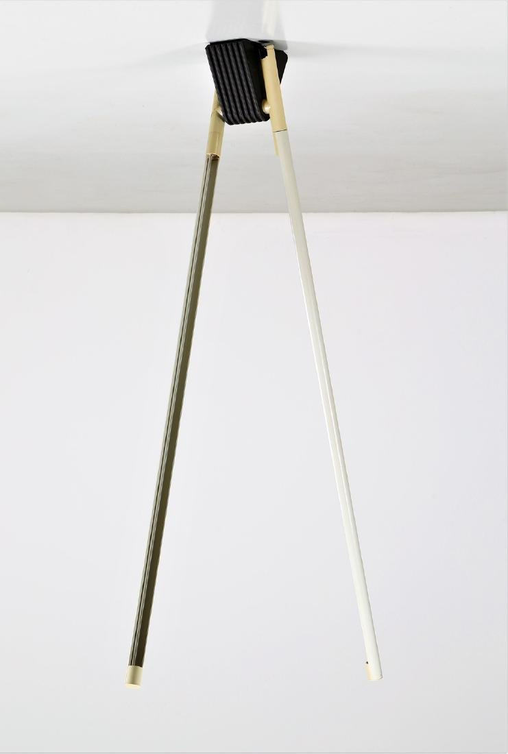 RODOLFO BONETTO Ceiling light in lacquered metal and - 2