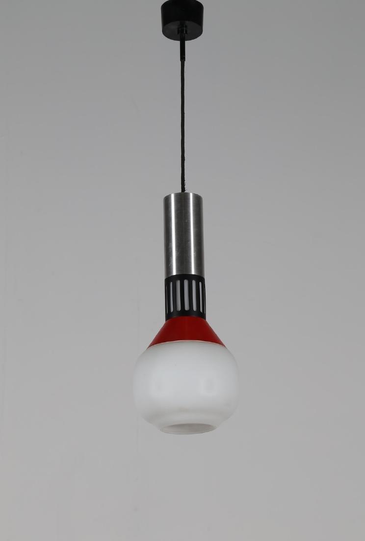 STILNOVO  Pendant light in lacquered aluminium, plastic