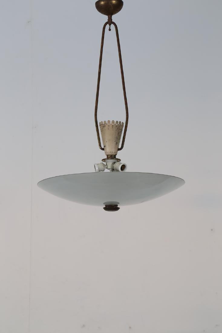 PIETRO CHIESA Distinctive ceiling lamp in lacquered