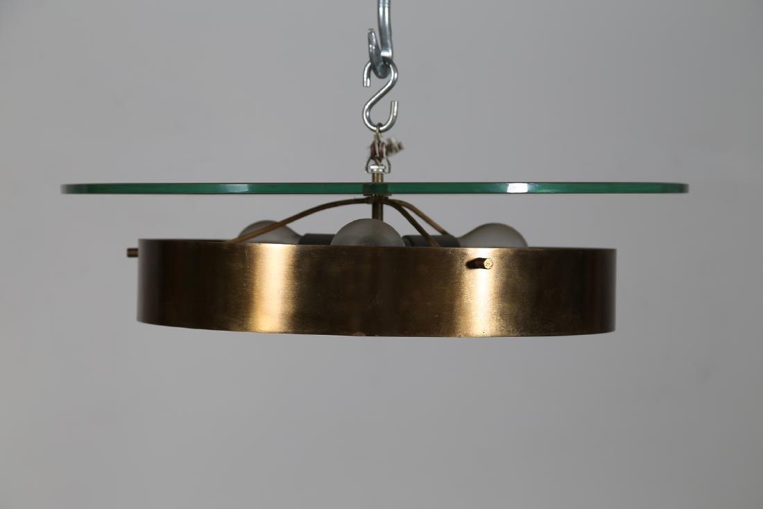 STILNOVO  Large ceiling light in lacquered brass, - 3