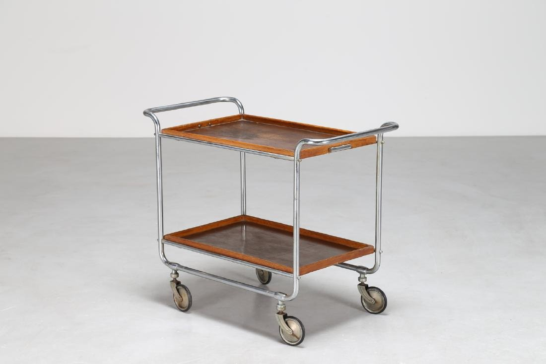 MILANO COVA Tubular steel trolley with removable