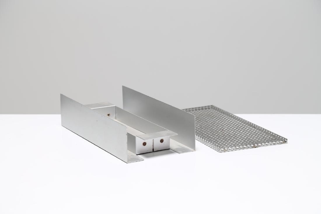 BRUNO MUNARI Metal container, for Danese Milano, - 2