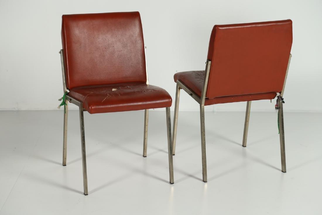 MANIFATTURA ITALIANA  Two armchairs.