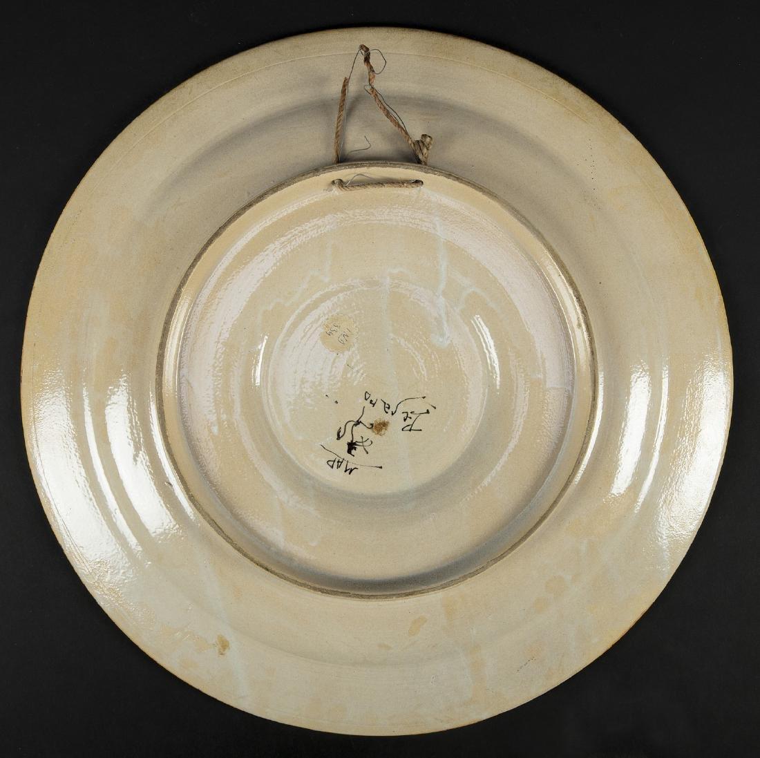 MANIFATTURA DEL XIX SECOLO  Piatto in ceramica - 2