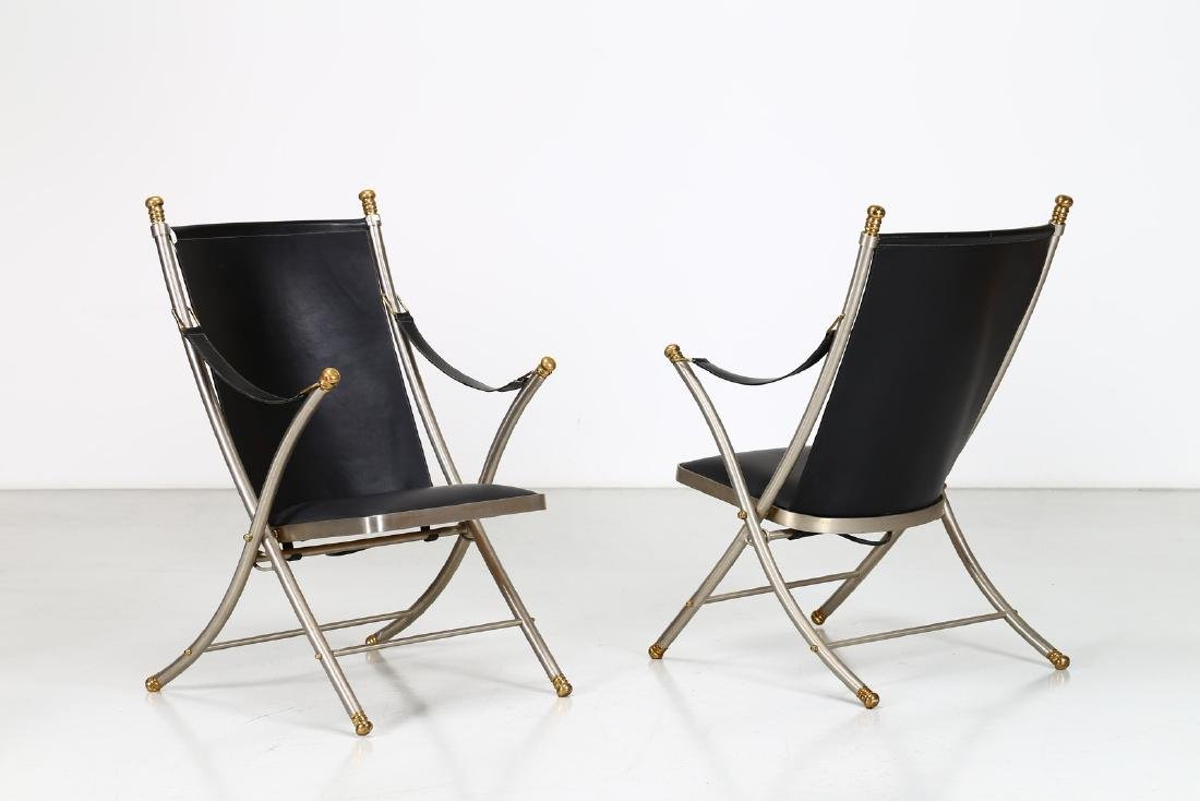 OTTO PARZINGER Pair of armchairs.
