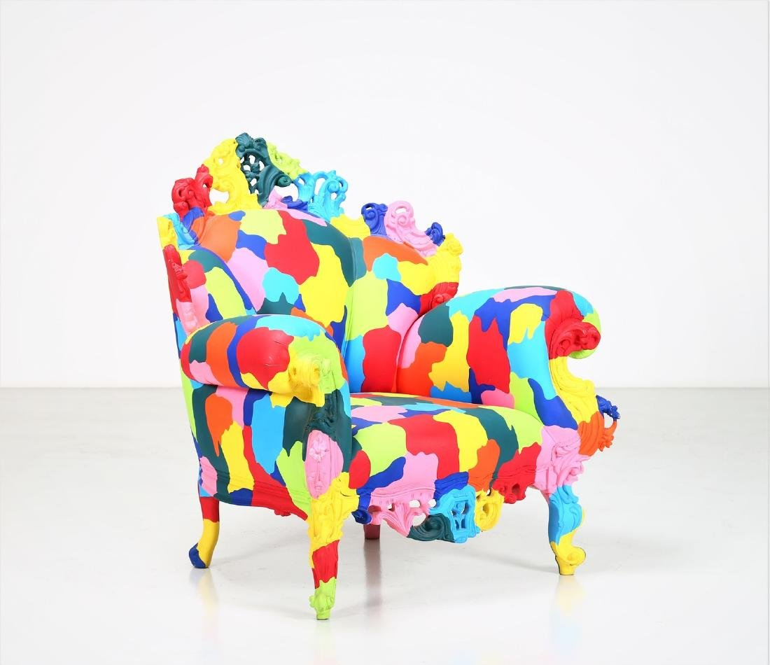 ALESSANDRO MENDINI Mozart armchair, 2000.