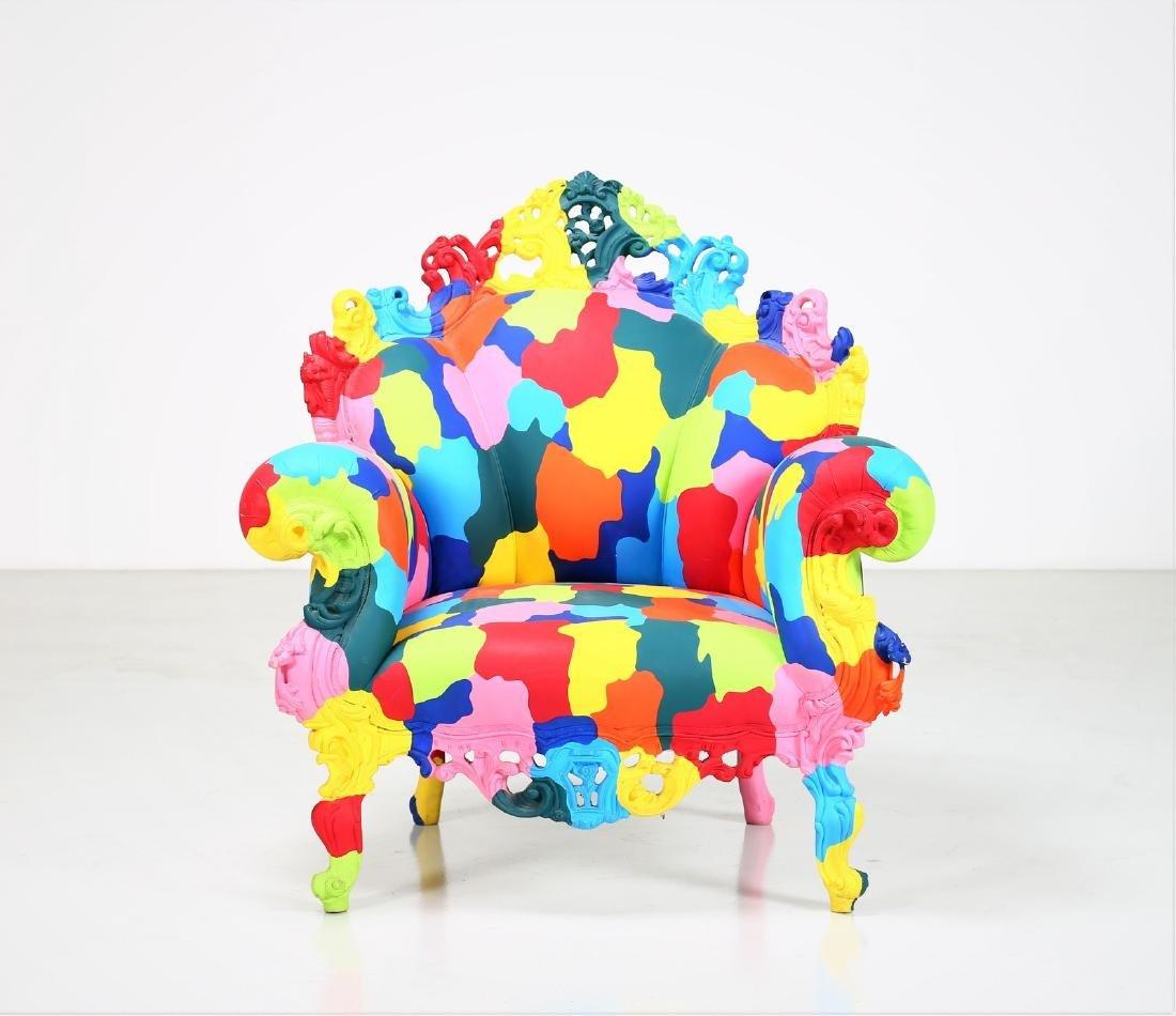 ALESSANDRO MENDINI Mozart armchair, 2000. - 3