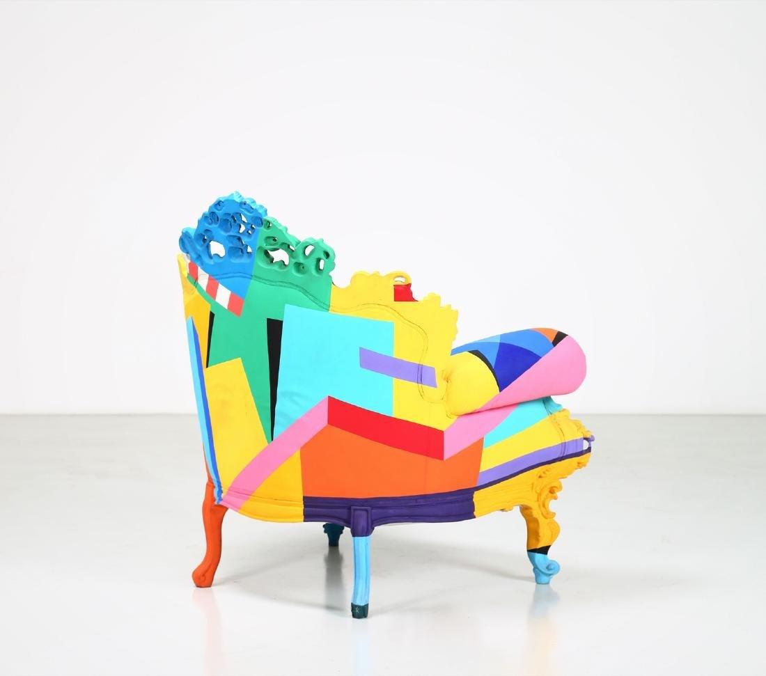 ALESSANDRO MENDINI Geometric armchair, 2001. - 5