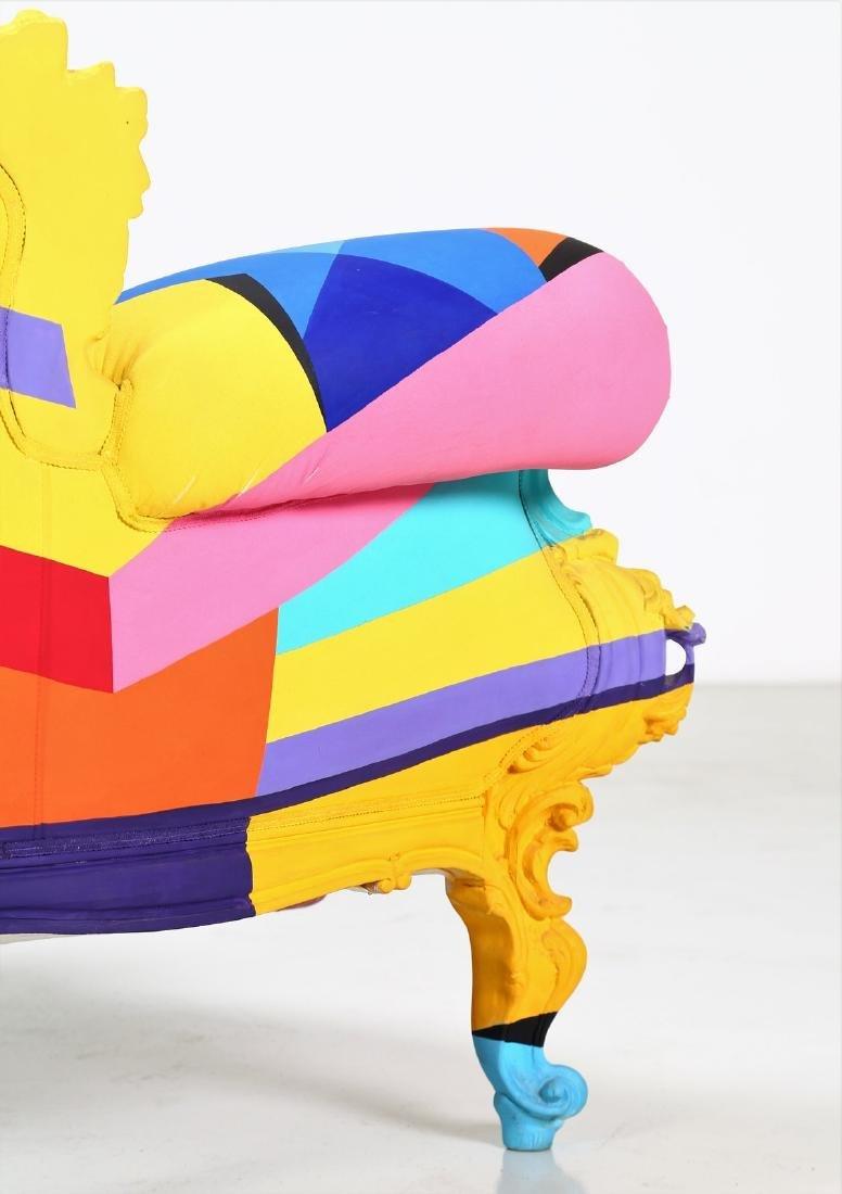 ALESSANDRO MENDINI Geometric armchair, 2001. - 6