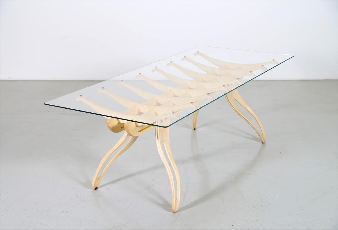 CAMPO & GRAFFI  Replica, Millepiedi table, replica 1 of