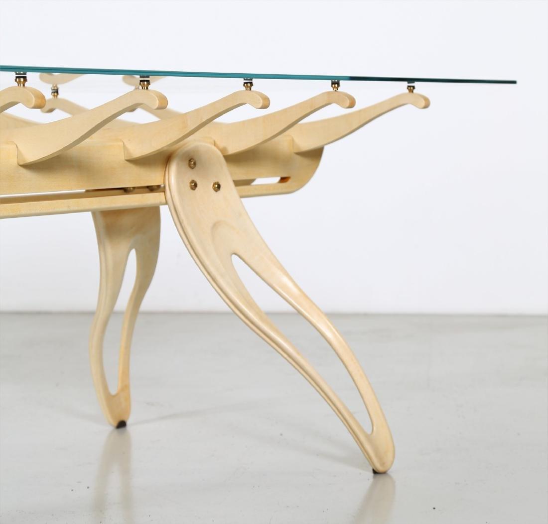 CAMPO & GRAFFI  Replica, Millepiedi table, replica 1 of - 3