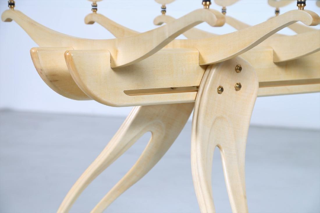 CAMPO & GRAFFI  Replica, Millepiedi table, replica 1 of - 4