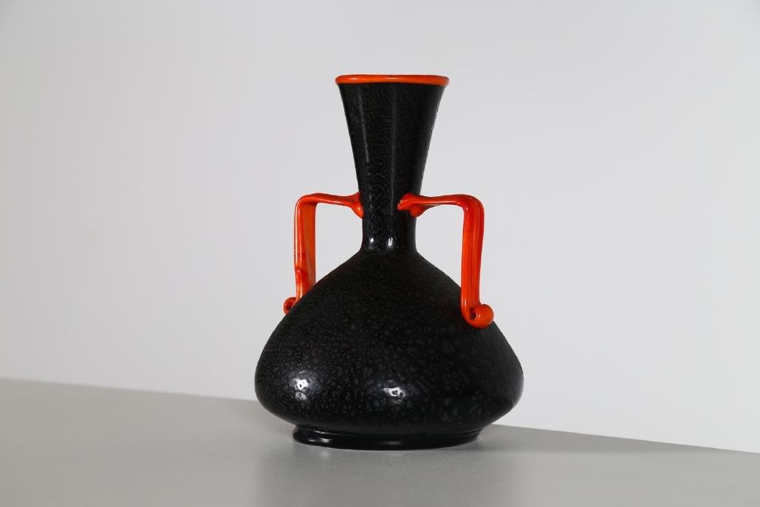 VETRERIE ARTISTICHE CIRILLO MASCHIO  Vase with handle. - 4