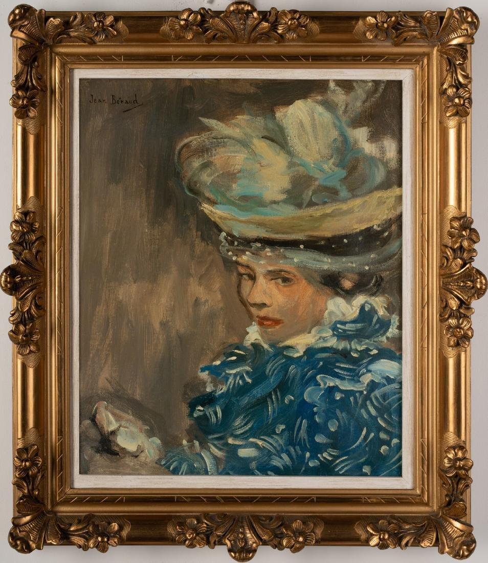 JEAN BERAUD Portrait of woman. .